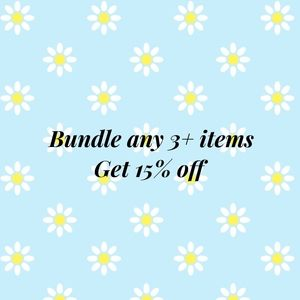 Bundle of 3+ items
